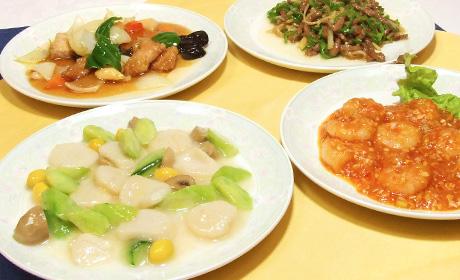 写真:中華料理一例